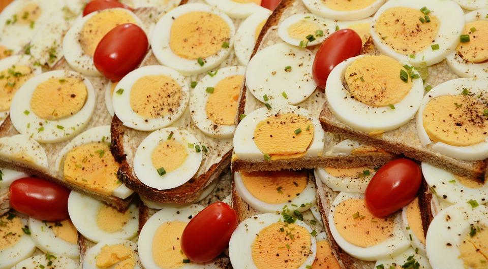 Bílkoviny v potravinách